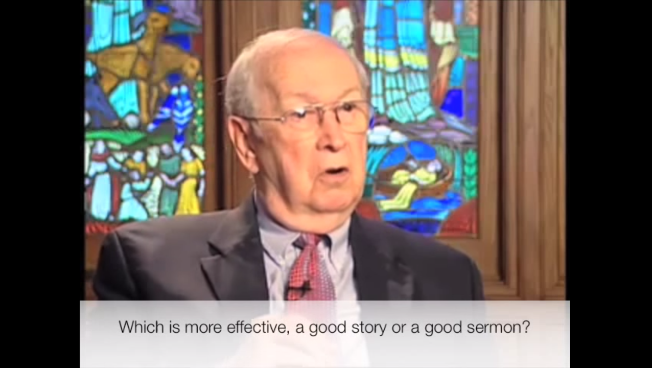 Fred Craddock on Storytelling in Sermons