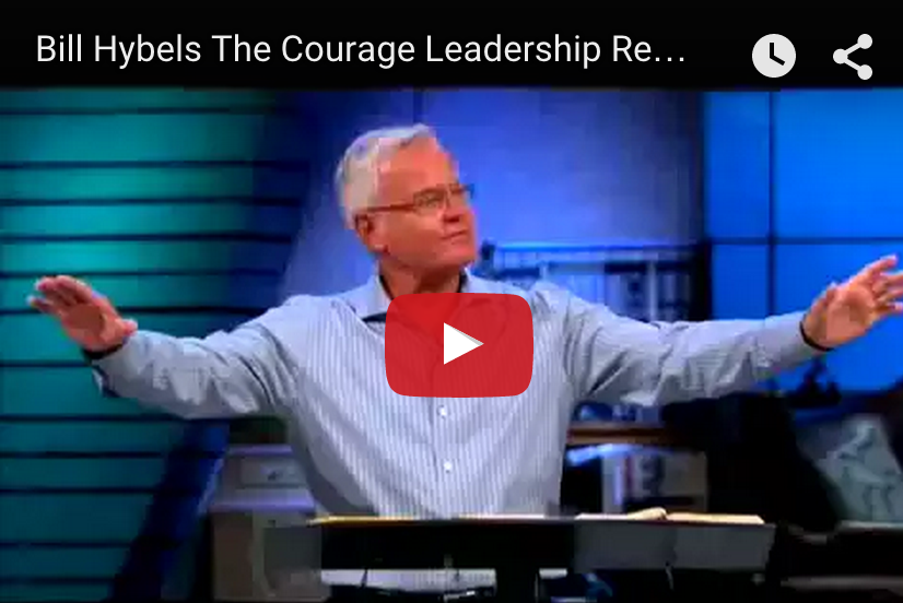 Bill Heybels on the Courage Leadership Requires