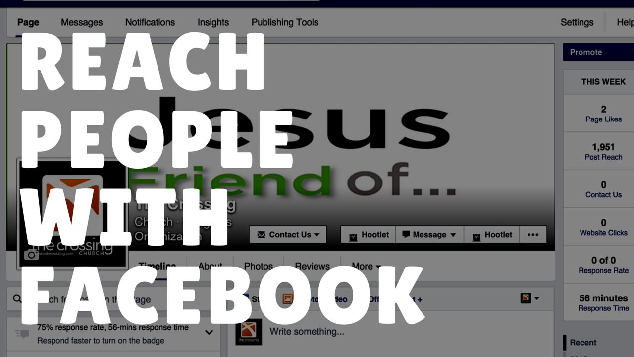 How Your Church Can Reach More People With Facebook