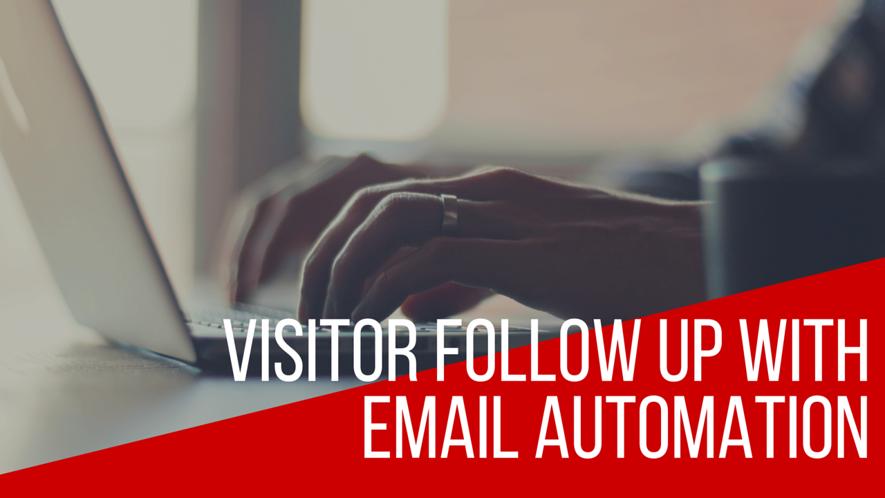 Visitor Follow Up With Email Automation in Mailchimp
