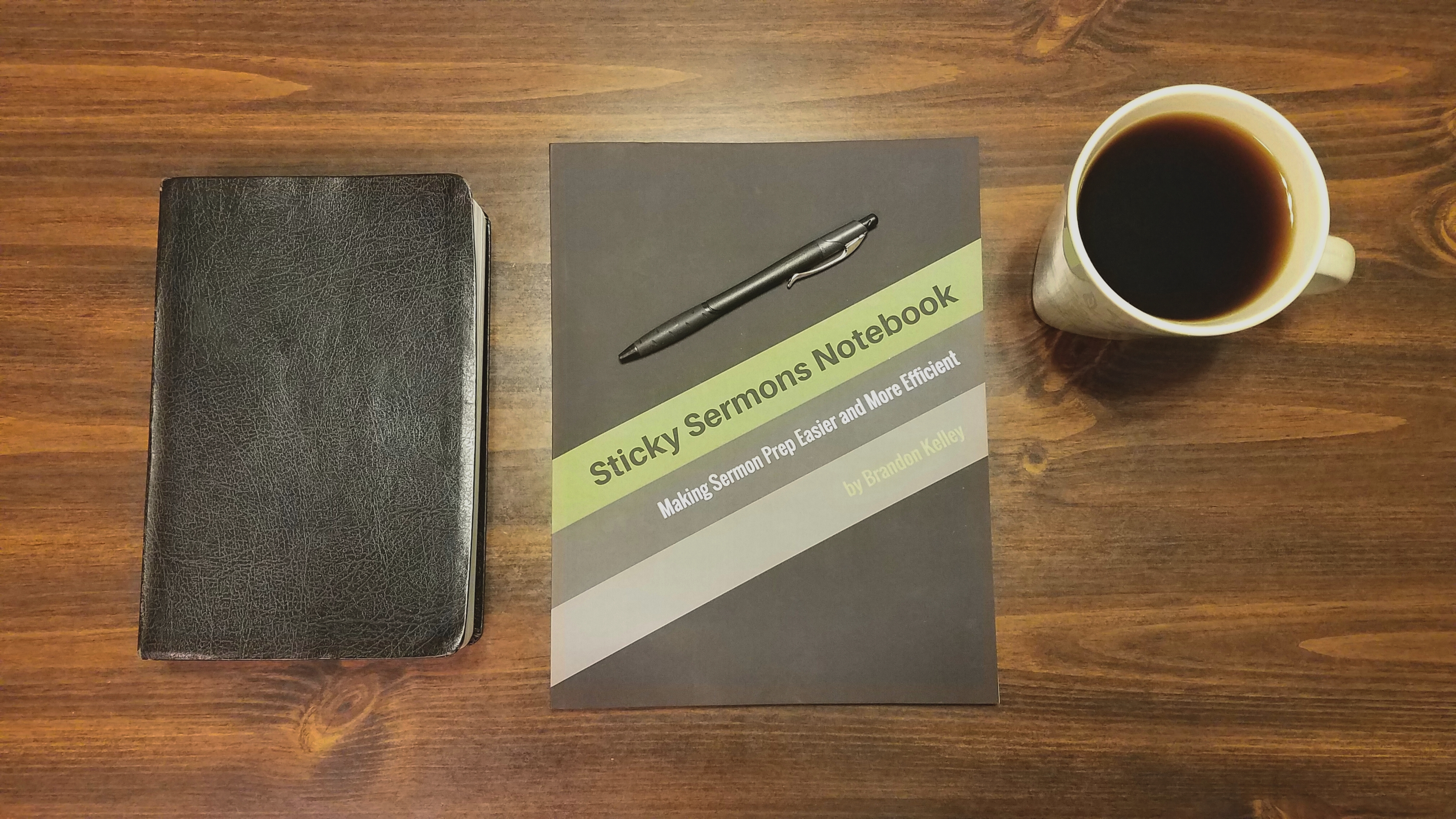 Sticky Sermons Notebook