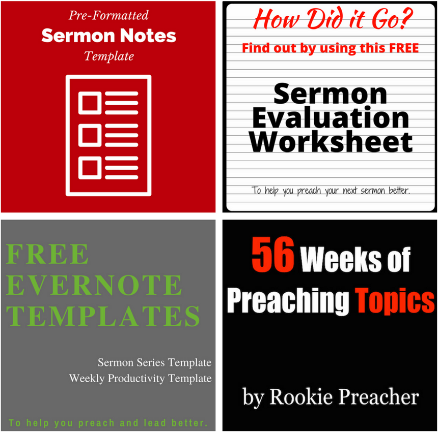 Rookie preacher helping you preach and lead better enter your info below to get your free resources pronofoot35fo Image collections