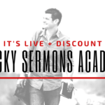 It's Live + Discount: Sticky Sermons Academy