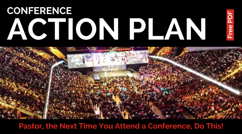 Pastor, the Next Time You Attend a Conference, Do This!