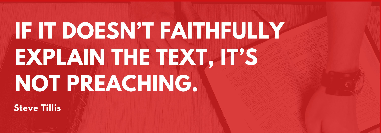 preaching quote - steve tillis
